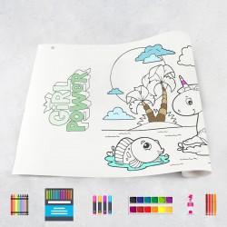 Drawing roll Girls