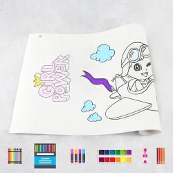 Drawing roll Girls 1