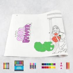 Drawing roll Girls 2