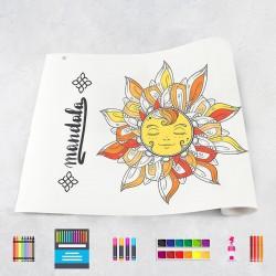 Drawing roll Mandala