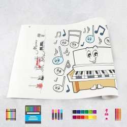 Drawing roll Music