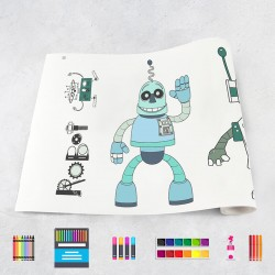 Drawing roll Robots