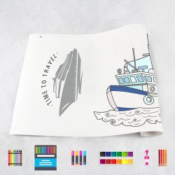 Drawing roll Ships