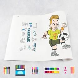 Drawing roll Sports