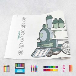 Drawing roll Trains
