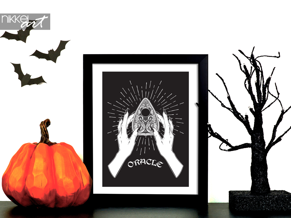 Halloween Poster Oracle