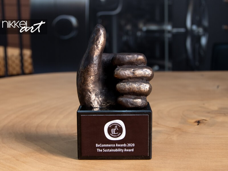 In our trophy case: BeCommerce Sustainability Award 2020
