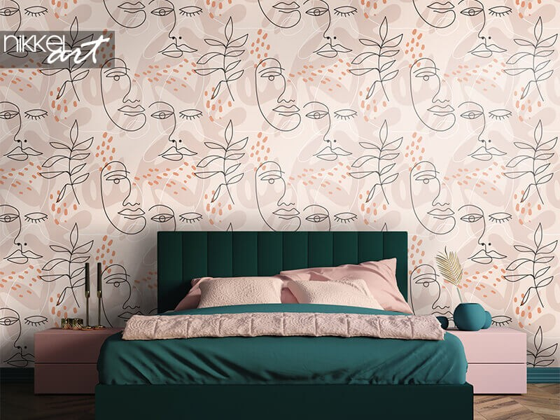 Decorate your bedroom with wall murals