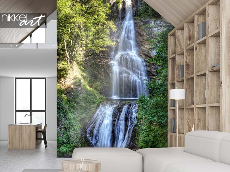 Let your walls speak: waterfall photo prints