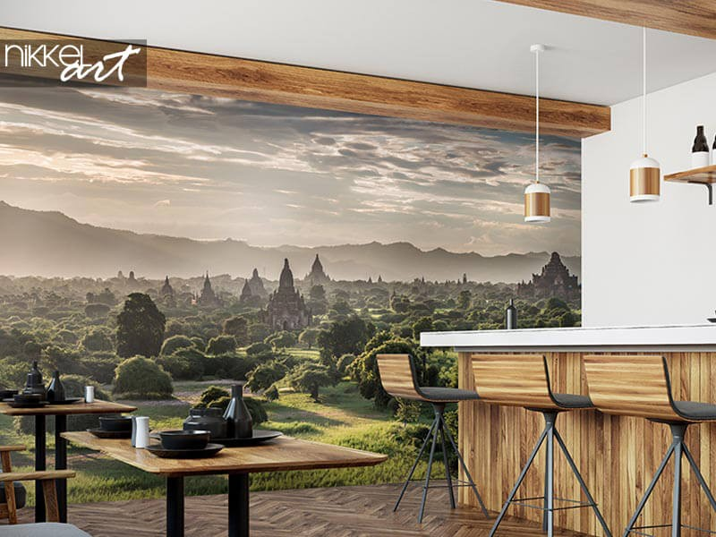Atmosphere in the business? get started with wall decoration