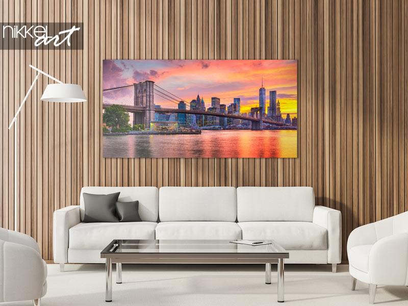 Upgrade your interior: brooklyn bridge photo decoration