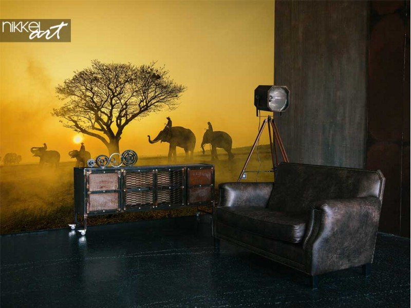 Must have! The Big Five on wall murals