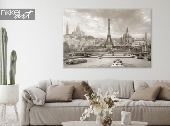 Paris on a canvas