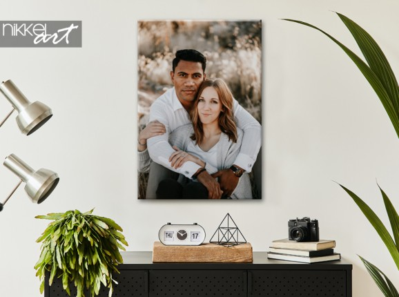 Own picture on canvas