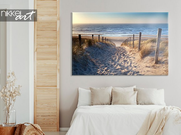 North Sea on canvas
