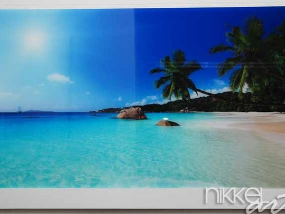 Photo on Acrylic Beach