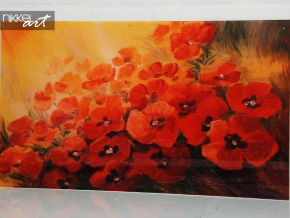 Photo on Acrylic Poppy