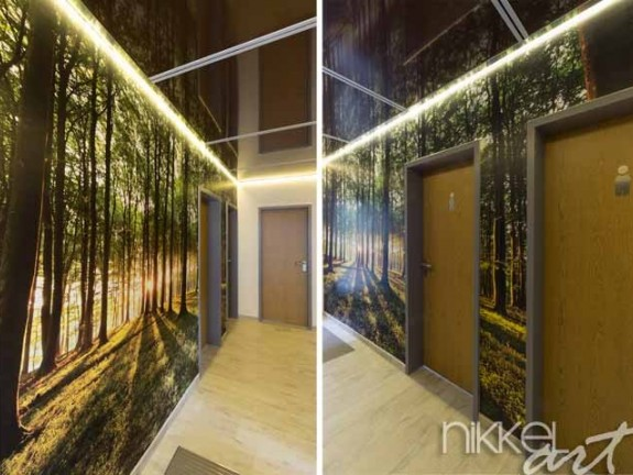Wall Mural Forests - Hall Plumbing