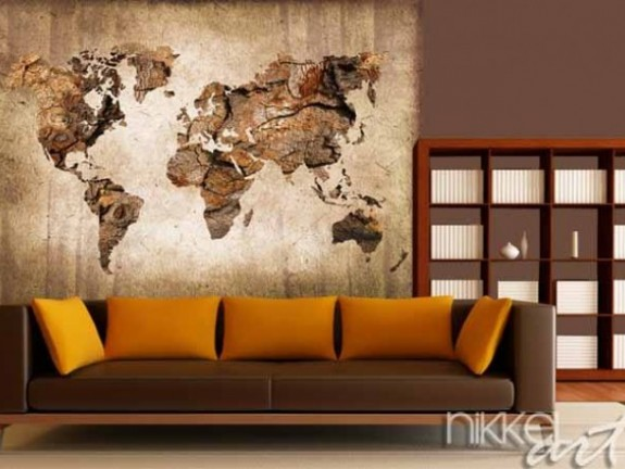 Wall Murals World Map