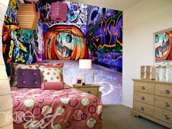Wall Murals | graffiti