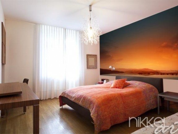 Wall mural for your bedroom nature